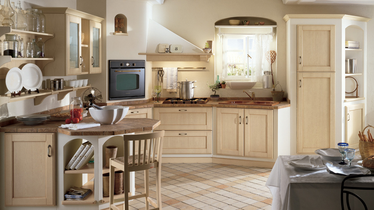Kitchen in provence style interior design ideas and photos for Provence kitchen design