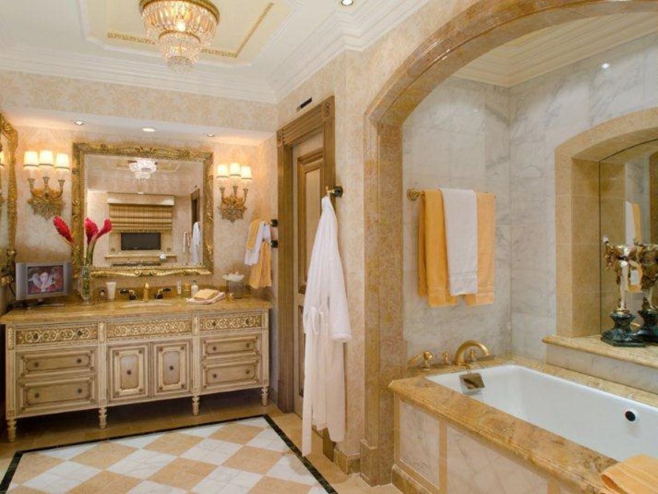 Bathroom in Classic Style | Interior design ideas and photos
