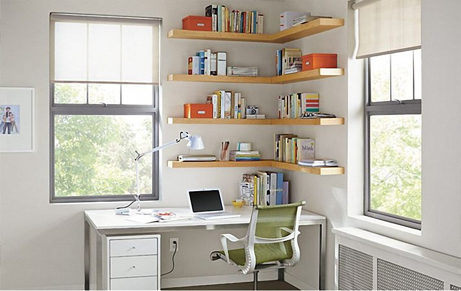 7 rules for angular working place  Interior design ideas and photos